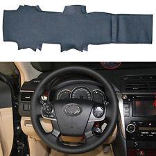 DIY Leather Steering Wheel Cover Custom for Toyota Camry 2012 2013 2014 4-spoke