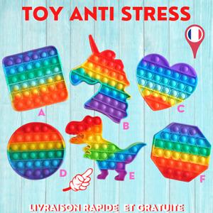 Fidget Toy Sensoriel Push It Anti Stress Bulle Relief TikTokk Jeux Pop Enfant 2