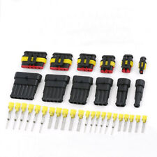 1 Set 1/2/3/4/5/6 Pins Car Auto Sealed Waterproof Electrical Wire Connector Plug