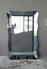 STRIKING 1940'S VERY LARGE DOROTHY DRAPER HOLLYWOOD REGENCY WALL MIRROR
