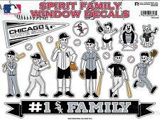 Chicago White Sox Family Spirit Stickers Window Decal Sheet Baseball