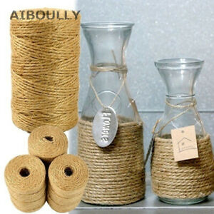 DIY Jute Twine 100M Natural Sisal 2mm Supplies Party Events Cord String Rope