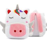 Toddler Kid Children Boy Girl Animal Backpack School Bag Rucksack Unicorn