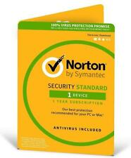 Norton Internet Security Antivirus Latest Version 2017 1 User 1 Y Windows 7 8 10