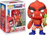 FUNKO POP!: MASTERS OF THE UNIVERSE - CLAWFUL SDCC 2020 #1018 *UK STOCK*