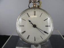 C682 ⭐⭐ rara chino reloj de bolsillo duplexhemmung ⭐⭐ 55mm