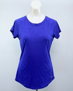 Champion Purple Semi-Fitted Active Wear Top