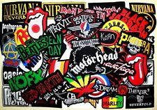 WHOLESALE Lot 50 Heavy Trash Punk Hard Rock Band Music Collectible Iron patch #7