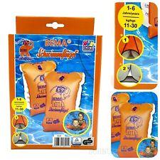 BEMA Schwimmflügel 11-30 kg Schwimmhilfen 1-6 Jahre Gr.0 orange Doppelkammer