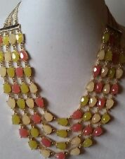 TALBOTS Mixed-Bead Multi-Strand Necklace