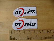 DT SWISS Bike / Mtb Decals Self Adhesive  A Pair (T2e) FREEPOST