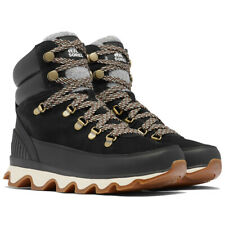 Womens Sorel Kinetic Conquest Winter Waterproof Durable Chunky Sole Ankle Boots