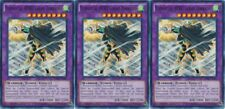 Elemental HERO Great Tornado SDHS-EN045 X 3 1st Mint YUGIOH Cards