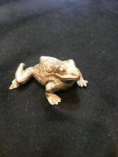 New listing Vintage 1984 Hudson Pewter #305 Frog