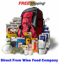 "Wise Food Company Emergency Backpacks, 5 Days Survival Supply ""Red"""