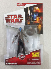 STAR WARS THE CLONE WARS RED CAD BANE WITH BLASTERS