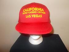 VTG-1980s California Casino RV park Las Vegas vacation Cousin Eddie hat sku10