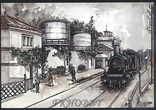 CPA France Locomotive Train Lokomotive Zug Treno Tren Locomotora Kolej Rail k204