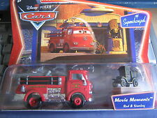 DISNEY PIXAR CARS RED & STANLEY MOVIE MOMENTS SUPERCHARGED