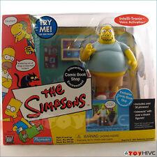 Simpsons Interactive Comic Book Guy Shop Playset Interactive Environment box set