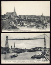 France 8 early PPCs ROUEN from booklet
