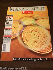 MANAGEMENT TODAY - THE OLYMPICS - JULY 1996