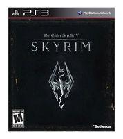 The Elder Scrolls V: Skyrim (Sony PlayStation 3, 2011) VERY GOOD