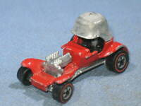 Vintage Mattel HOT WHEELS 1969 Redline Pat Pending RED BARON Made in Hong Kong