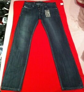 ►NEUF ! JEANS MARQUE DIESEL BLEU FONCE TAILLE 36 US27 L32 MODE LUXE 501 D2 2021◄