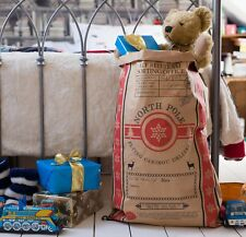 10  Kraft Paper Scandi Style Christmas Sacks.
