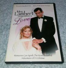 Mrs. Lambert Remembers Love DVD RARE oop
