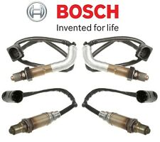NEW BMW E60 M5 E63 E64 M6 Set of 2 Front and 2 Rear Oxygen Sensors Kit Bosch