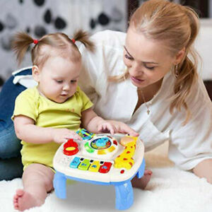Baby Play Learn Activity Table Musical Toys 6 12 Months Toddler Early Education