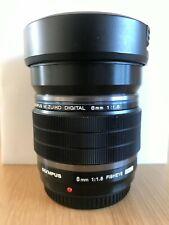 Olympus 8mm F1.8 M.ZUIKO DIGITAL ED Fisheye Pro Lens for MFT