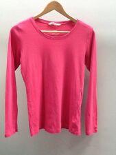 H&M Pink Crew Neck Basic T-Shirt. Tee. Top.  UK14.  <N1150