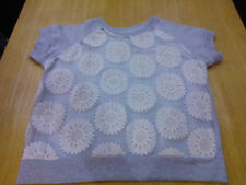 ** REDUCED ** PRETTY GREY JUMPER, SIZE 10  **VGC**