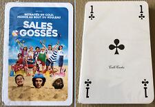 """Jeu de cartes, objet promotionnel du film """"Sales Gosses"""" (2017) (100% neuf)"""
