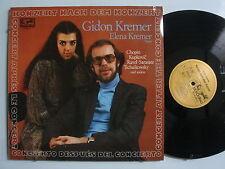 GIDON KREMER Konzert nach dem Konzert ELENA KREMER Import GERMANY LP EURODISC
