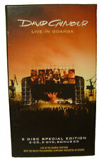 David Gilmour Live in Gdansk 5 Disc Special Edition Box PAL Region 2