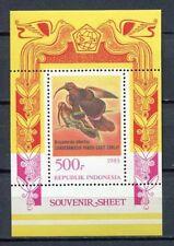 38361) INDONESIA 1983 MNH** Birds s/s