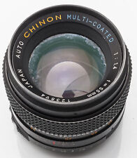 Auto Chinon Multi-Coated 55mm 55 mm 1:1.4 1.4 - M42 M 42 Anschluss