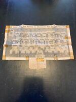 Cleveland Indians - Vintage - 1948 World Champions - Team Picture - Original