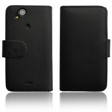 Sony Xperia Arc S Tasche Wallet Case Schutz Hülle Etui Flip Cover Book schwarz