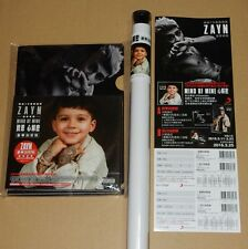 Zayn One Direction Mind Of Mine Taiwan Ltd CD Promo Folder Poster RARE New