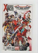 Uncanny X-Men #1 - State Bird Variant Cover Deadpool! - 2013 (Grade 9.2) WH