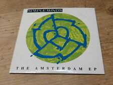 SIMPLE MINDS - THE AMSTERDAM EP !!!! - RARE CD 3 INCHES - CD 3 POUCES