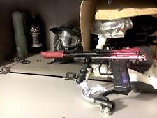 Spyder Pilot ACS Paintball Marker gun Black Red