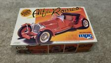 Vintage MPC Alfa Romeo in Red 1/32 Scale Model Kit Boxed