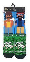 Odd Sox Men's Pixel Cheech & Chong New Weed High Designer Socks Size 6-13 NEW