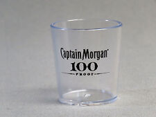CAPTAIN MORGAN RUM 100 PROOF BAR SHOT GLASS man cave shooter NEW